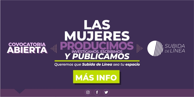 Convocatoria: Mujeres produciendo y publicando