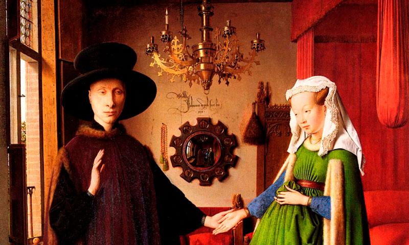 Retrato de Giovanni Arnolfini y su esposa por